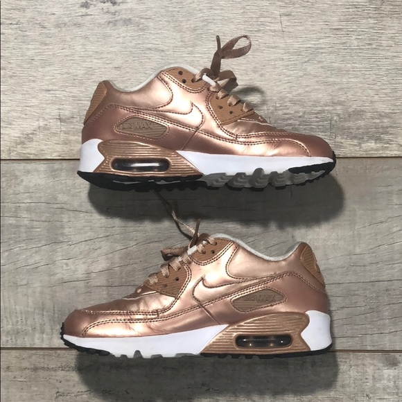 nike air max 90 se leather rose gold